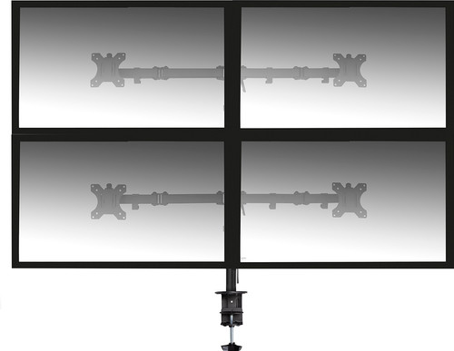 Ewent EW1514 Monitor Bracket for 4 Monitors Main Image