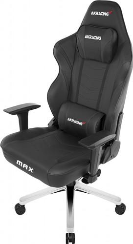 AKRACING, Gaming Chair Master Max - PU Leather Black Main Image
