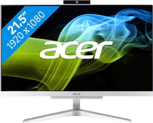 Acer Aspire C22-820 I5008 BE Tout-en-un Azerty Main Image