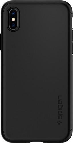 sports shoes 6f1be 552ef Spigen Thin Fit Apple iPhone Xs/X 360 Case Black