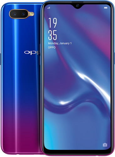 Oppo RX17 Neo Blue Main Image