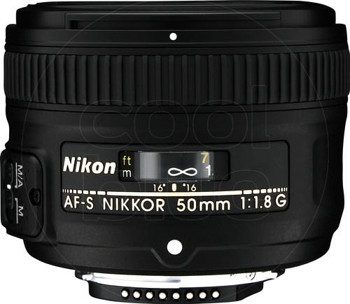 Nikon AF-S 50mm f/1.8G Main Image