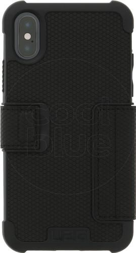 sports shoes e8697 f9551 UAG Metropolis Apple iPhone X Book Case Black