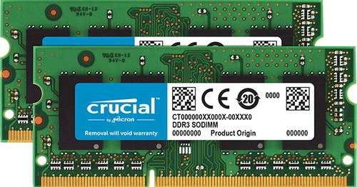 Crucial 16GB DDR3L 1600SODIMM for Mac Main Image