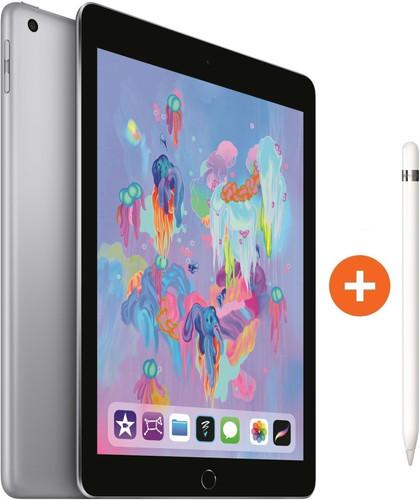 Apple iPad (2018) 128 Go Wi-Fi Gris sidéral + Apple Pencil Main Image