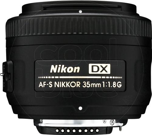 Nikon AF-S 35 mm f/1.8G DX Main Image