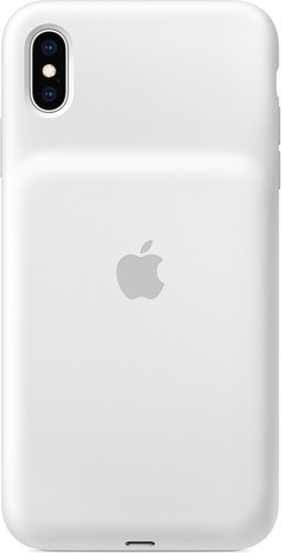 Deuxième Chance Apple Smart Battery Case iPhone Xs Max Blanc Main Image