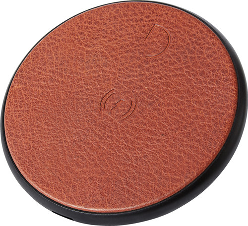 Decoded Leather Wireless Fast Charger Bruin Main Image