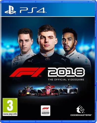 F1 2018 Headline Edition PS4 Main Image