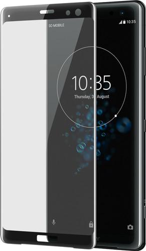 Azuri Protège-écran Verre trempé Sony Xperia XZ3 Noir Main Image