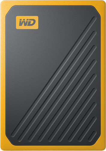 WD My Passport Go 1 TB Black / Yellow Main Image
