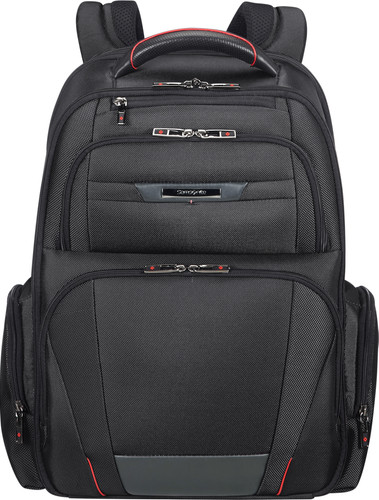 "Samsonite Pro-DLX5 Expandable Laptop Backpack 17,3"" Black Main Image"
