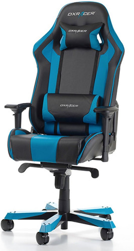 DXRacer KING Gaming Chair Black/Blue Main Image
