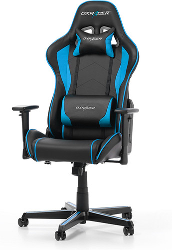 DXRacer FORMULA Gaming Chair  Zwart/Blauw Main Image