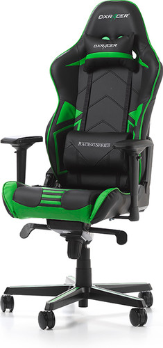 DX Racer RACING PRO Gaming Chair Black/Green Main Image
