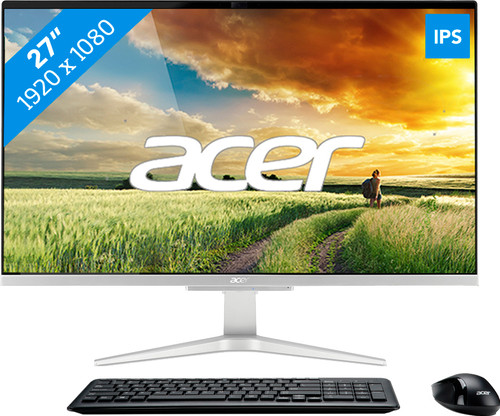 Acer Aspire C27-865 I3528 BE All-In-One Azerty Main Image