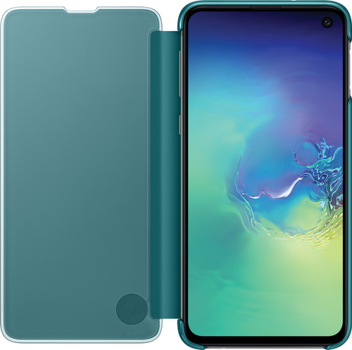 size 40 78db7 92937 Samsung Galaxy S10e Clear View Cover Book Case Green