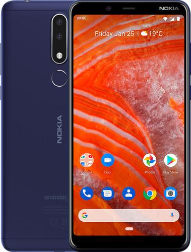 Nokia 3.1 Plus Bleu Main Image