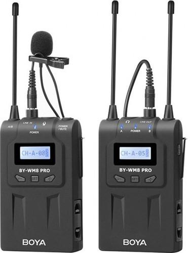 Boya UHF Duo Lavalier Microphone Sans Fil BY-WM8 Pro-K1 Main Image