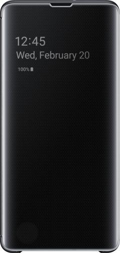 Samsung Galaxy S10 Plus Étui Clear View Noir Main Image