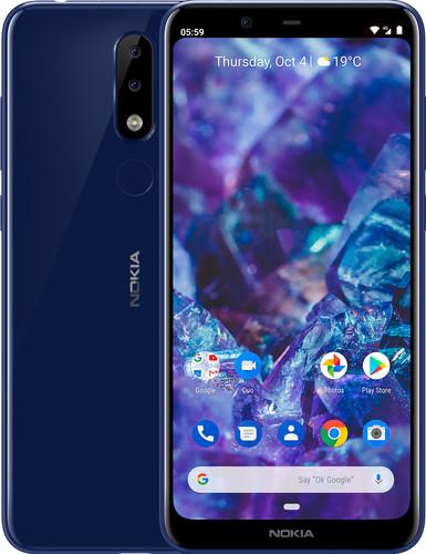 Nokia 5.1 Plus Blue Main Image