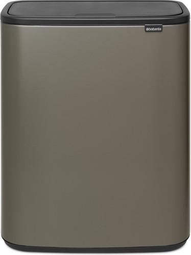 Touch Bin 40 Liter Aanbieding.Brabantia Bo Touch Bin 2 X 30 Liter Platinum