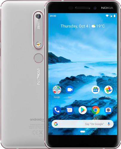 Nokia 6.1 32GB White Main Image