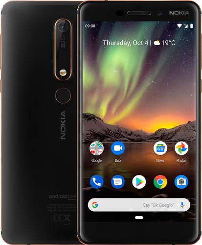 Nokia 6.1 32GB Black Main Image