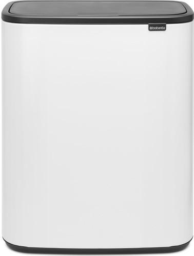 Brabantia 60 Liter.Brabantia Bo Touch Bin 60 Liter White