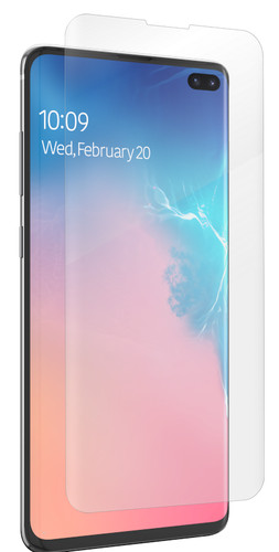 InvisibleShield Ultra Clear Samsung Galaxy S10 Plus Screenprotector Plastic Main Image