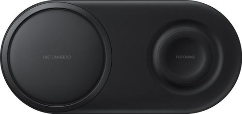 Samsung Chargeur Sans Fil DUO Pad Noir Main Image