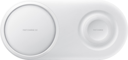 Samsung Draadloze Oplader DUO Pad Wit Main Image
