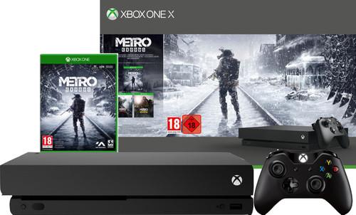 Xbox One X 1TB Metro Exodus Main Image