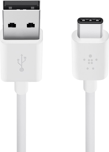 Belkin Usb C Cable White 1.8m Main Image