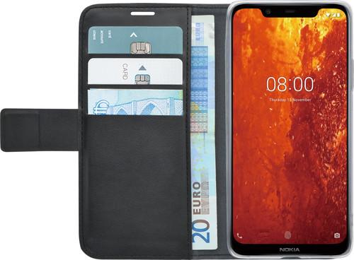 Azuri Wallet Magneet Nokia 8.1 Book Case Zwart Main Image