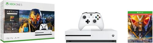 Xbox One S 1TB Anthem Bundle Main Image