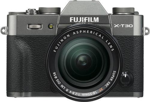 FujiFilm X-T30 Donkergrijs + XF 18-55mm f/2.8-4.0 R LM OIS Main Image