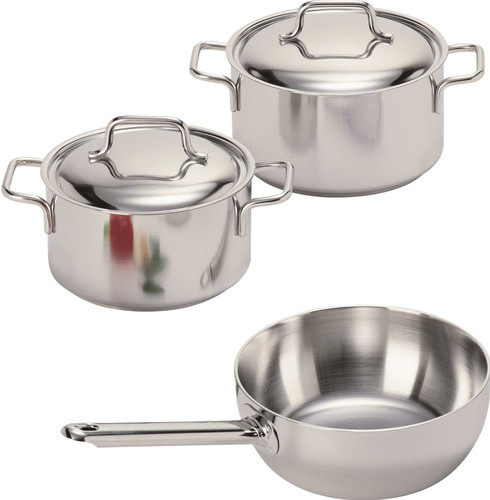 Second Chance Demeyere Apollo 3-piece Cookware Starter Set Main Image