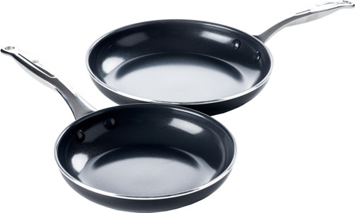 GreenPan Brussels ceramic skillet set 24 cm + 28 cm Main Image