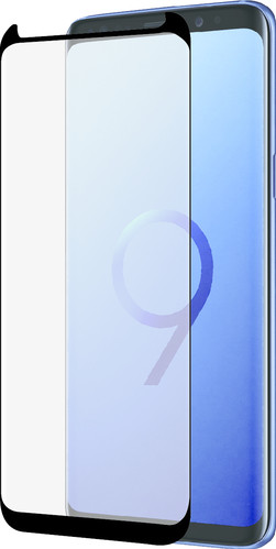 Azuri Protège-écran Incurvé en Verre Trempé Samsung Galaxy S9 Noir Main Image