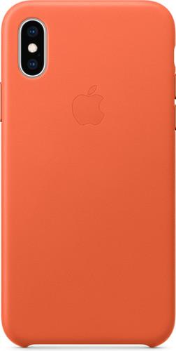 apple coque en cuir pour iphone xs
