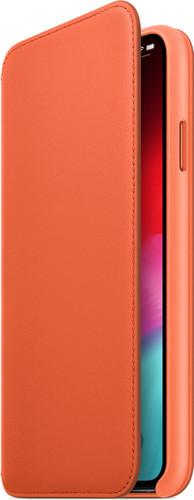 Deuxième Chance Apple iPhone Xs Max Folio Cuir Coucher de soleil Main Image