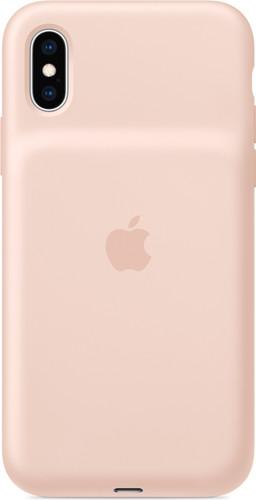 Apple Smart Battery Case iPhone Xs Max Rose des sables Main Image