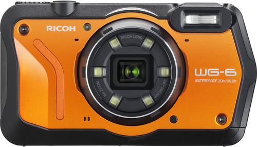 Ricoh WG-6 Oranje Main Image