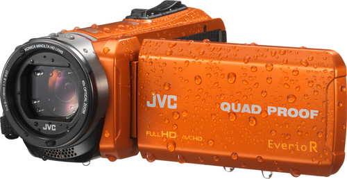 JVC GZ-R445DEU Oranje Main Image