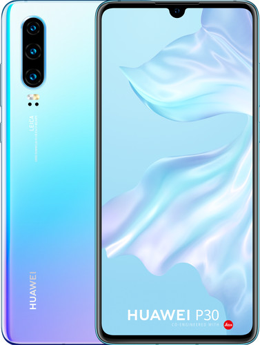 Huawei P30 White/Purple Main Image