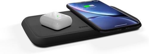 ZENS Dual Fast Chargeur sans fil 10W Noir Main Image