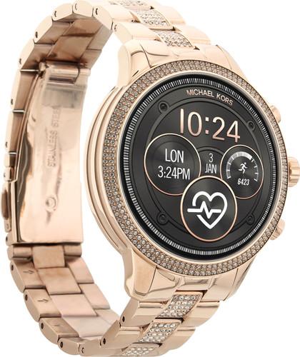 b845e6ee913 ... Michael Kors Access Runway Gen 4 Display Smartwatch MKT5052 rechterkant
