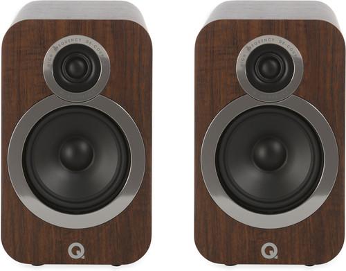 Q Acoustics 3020i Noyer (par deux) Main Image
