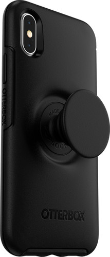Otterbox Symmetry Pop Apple iPhone X/Xs Back Cover Zwart Main Image